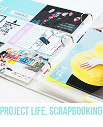 Project Life and Scrapbooking